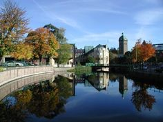 Boras, Sweden. Its also known as the textile capital of the world. Its where I fell in love with sweater dresses.
