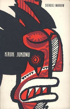 Janusz Stanny (1932-2014, Poland), 1956, Book Cover Illustration.