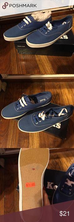 keds blue vans Never worn size 8 blue keds Keds Shoes Sneakers