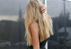 long, blunt cut #hair