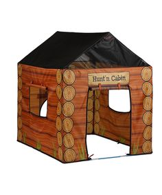 Look what I found on #zulily! Hunting Cabin Play Tent by Pacific Play Tents #zulilyfinds