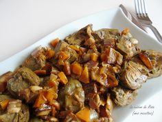 Coucou gourmets.. aujourd'hui une bonne recette provençale que je viens de découvrir grâce à mon amie Mijane, Tous à la maison on... Plats Ramadan, French Food, Flan, Kung Pao Chicken, Ratatouille, Pot Roast, Cooking, Ethnic Recipes, Provence