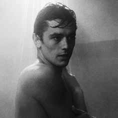 Damn, I need a shower! Thanks, Alain Delon