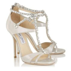 Las más lindas sandalias para novia 2015: El par que conquistará la primavera Image: 4