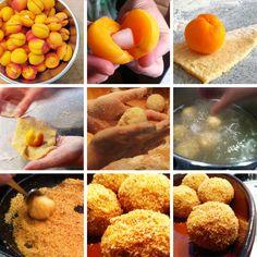 Aprikosen - & Zwetschgenknödel - omoxx