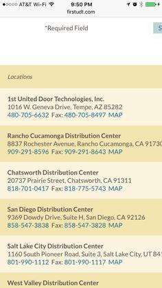 1st UDT Garage Doors, Rancho Cucumonga