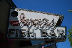 ivar's fish bar for fish and chips and clam chowder.