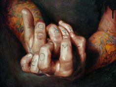 img - Tattoo Paintings by Shawn Barber <3 <3