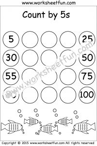 Skip Counting by 10, 20, 30, 40, 50, and 60 – Worksheet   Skip ...