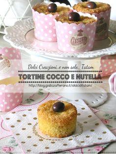 Tortine cocco e nutella | ricetta semplice senza farina