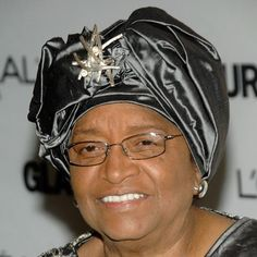 Ellen Johnson Sirleaf is the world's first elected black-female president (Liberia). In 2011 she, along with 2 other women, was awarded the Nobel Peace Prize for her nonviolent struggle for the safety of women and women's rights. #Inspiration #Women