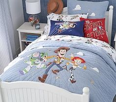 Disney and Pixar Toy Story Sheet Set Toy Story Bedding, Toy Story Nursery, Toy Story Bedroom, Kids Bedroom, Bedroom Ideas, Nursery Themes, Toy Story Zimmer, Toddler Quilt, Toddler Toys