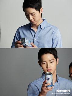 Song Joong Ki for Hite Beer 2016 My First Crush, My Crush, Korean Actresses, Korean Actors, Deep Rooted Tree, Song Joon Ki, Sungkyunkwan Scandal, Songsong Couple