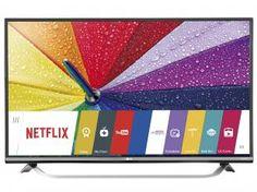 "Smart TV LED 4k Ultra HD 43"" LG 43UF7700 - Conversor Integrado DTV 3 HDMI 3 USB"