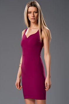 Kalp Yaka Fuşya Elbise MLWSS156745 Milla by trendyol | Trendyol