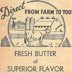 Download :: Printable Antique Butter Box