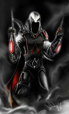 If Assassins Creed & Batman Beyond ever had amazing babies, i think they'd look exactly like this. Assassins Creed 3, Art Anime, Batman Beyond, Video Game Characters, Futuristic, Character Art, Geeks, Cool Stuff, Assasians Creed