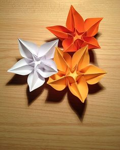 Make Origami Flowers From A Single Sheet Of Paper Without Glue