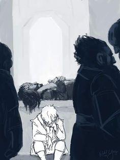 If you've read the book or any amount of fanfiction, it most definitely i. The Last Goodbye Hobbit Art, Hobbit Hole, The Hobbit, Bilbo Baggins, Thorin Oakenshield, Thranduil, Legolas, Fili Und Kili, The Last Goodbye