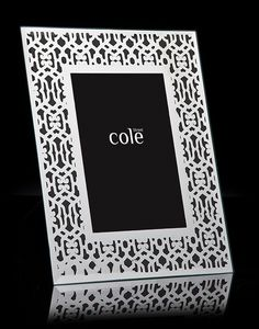 Mirror Damask Design Picture Frame