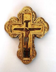 Greek-Russian-Orthodox-Handmade-Wooden-Wall-Cross-Serigraphy-Icon-23-5x18cm
