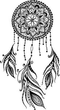 Hand-drawn mandala dreamcatcher with feathers. - Hand-drawn Mandala Dreamcatcher with Feathers. Ethnic, tribal, indian american traditional symbol i - Dream Catcher Drawing, Dream Catcher Mandala, Dream Catcher Tattoo, Feather Dream Catcher, Dream Catchers, Dream Catcher Vector, Paisley Drawing, Doodle Art Drawing, Pencil Art Drawings