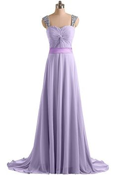 Sunvary 2015 Straps Chiffon Long Prom Bridesmaid Dresses Evening Formal Pageant Gowns for Sweety 16- US Size 18W- Lilac Sunvary http://www.amazon.com/dp/B00PL8VU9G/ref=cm_sw_r_pi_dp_G3o7ub11CATHT