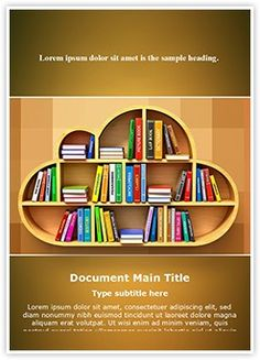 Cloud Library Word Document Template is one of the best Word Document Templates by EditableTemplates.com. #EditableTemplates #PowerPoint #templates Studying #Learning #Symbol #Encyclopedia #Digital #Computing #Wood #Communication #E-Learning #Internet #Study #Service #College #Web #Education #Store #Online #Ebook #Electronic #Library #School #Bookshelf #Cloud Library #Cloud #Knowledge #Computer #Publication
