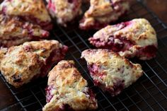 Today I made raspberry buttermilk scones and they are quite lovely, if a bit rustic ... They aren't overly sweet as I'm trying to cut down on my sugar intake so if you want a sweeter scone I would...