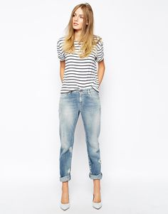 MiH Jeans   Mih Jeans Manchester Oversized Boyfriend Jeans With ...