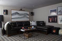 One Room Challenge: Week 6 – The Basement Mancave Reveal | The Makerista | Bloglovin'