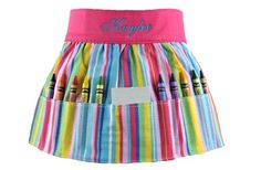 Personalized Crayon Apron 30% off at Groopdealz