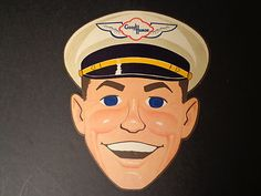 Good Humor Ice Cream Man Face Mask Giveaway - creepy! Good Humor Ice Cream, Ice Cream Man, Male Face, Creepy, Giveaway, Queen, Hot, Ebay, Male Faces