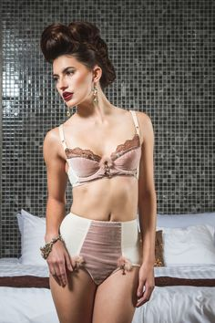 Lingerie Basics -  A well fit bra can appear to be a daunting mystery. Megan Summerville teaches you how to measure for and construct the most supportive garment in your wardrobe. From a basic pattern you will find the right shape and fit for your project.