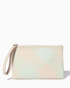 River Oaks Woven Wristlet   Fashion Handbags   Charming Charlie