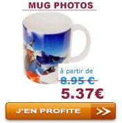 Offre de Noel : Mug Photo