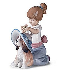 This Lladro reminds me of Gia to a T!