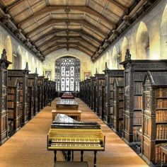 Old Library, St. John's College, Cambridge