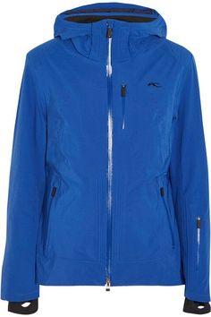 Kjus - Edelweiss Hooded Jacket - Cobalt blue - FR44
