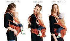 快快快 需要的爹地媽咪 跟買來送新手爸媽 都好用阿!!! <3 $16.99($98.68) Bebamour超高評價寶寶抱抱熊腰凳熱賣 Hip Seat Baby Carrier by Bebamour-Advanced Lumbar Support, 3 months+