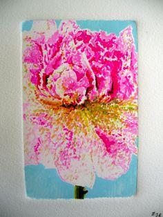 Peony Artist: Edward Baranski Water Media on Paper SOLD