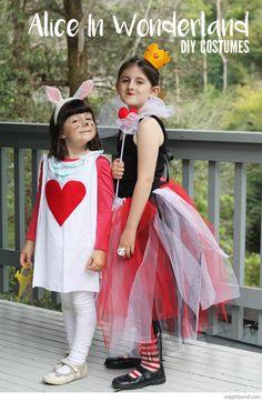 Bondville: Cheap and easy DIY Alice in Wonderland costumes for kids