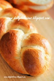 dailydelicious: Braided milk bread: Simple daily bread