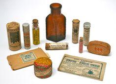 Vintage Medicine Packaging