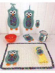 Owl Kitchen Set