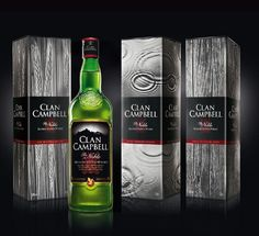 Clan Campbell - Gift box 2014 Design by QSLD