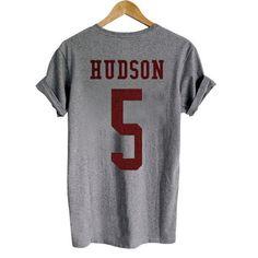 Finn Hudson 5 tshirt Back #clothing