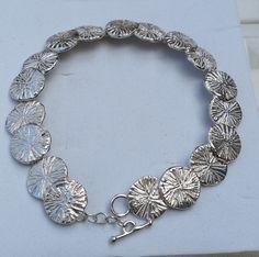 Silver Link Bracelet Sterling Silver 925 Bracelet by TalyaDesign