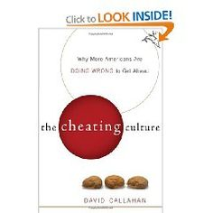 Interesting read on the effects of cheating in America