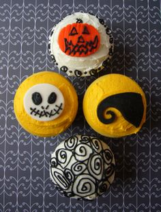 More Nightmare Before Christmas cupcakes